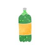 Retro cartoon fizzy drink bottle Royalty Free Stock Photos