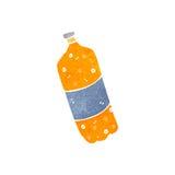 Retro cartoon fizzy drinks bottle Stock Photography