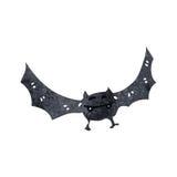 Retro cartoon flying bat Royalty Free Stock Photography