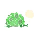 retro cartoon giant tortoise Royalty Free Stock Image