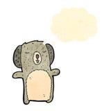Retro cartoon koala Stock Photography