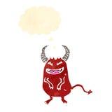 Retro cartoon little devil Royalty Free Stock Images