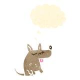 Retro cartoon little dog Royalty Free Stock Photography