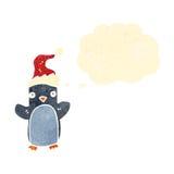 retro cartoon little penguin Royalty Free Stock Photos