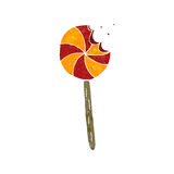 retro cartoon lolipop Stock Photos