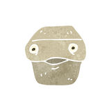 retro cartoon lunch box character Royalty Free Stock Image