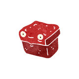 retro cartoon lunch box Stock Images