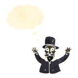 Retro cartoon magician Royalty Free Stock Photography