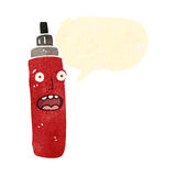 retro cartoon marker pen Stock Photography
