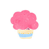 Retro cartoon muffin Royalty Free Stock Images