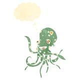 retro cartoon octopus Royalty Free Stock Photo