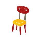 Retro cartoon old school chair Stock Photo
