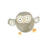 retro cartoon owl Stock Photos