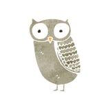 retro cartoon owl Royalty Free Stock Images