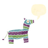 Retro cartoon pinata Royalty Free Stock Photo