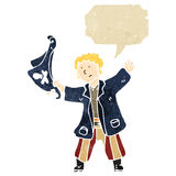 retro cartoon pirate Royalty Free Stock Images