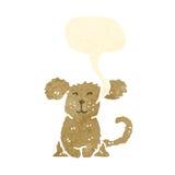 Retro cartoon puppy Royalty Free Stock Photo