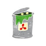 retro cartoon radioactive waste Royalty Free Stock Photography