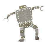 Retro cartoon robot Stock Photo