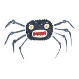 retro cartoon spider Royalty Free Stock Photography