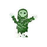 Retro cartoon spooky ghoul, Royalty Free Stock Photo
