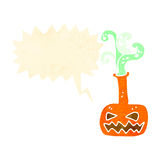 Retro cartoon spooky potion Stock Photography