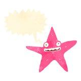retro cartoon starfish Stock Photography