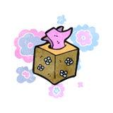 Retro cartoon tissues Royalty Free Stock Images