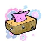 Retro cartoon tissues Stock Photo