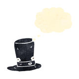 retro cartoon top hat character Stock Images