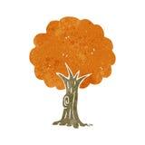 Retro cartoon tree Royalty Free Stock Photography