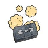 retro cartoon video tape Stock Photos