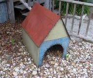 Retro casa di cane Fotografia Stock Libera da Diritti