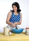 Retro casalinga Fotografie Stock