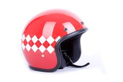 Retro casco Fotografia Stock