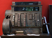 Retro cash register Stock Photos
