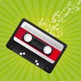 Retro cassette Stock Image