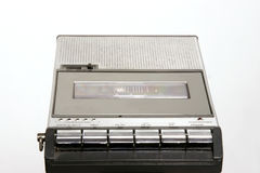 Retro Cassette recorder Royalty Free Stock Photo