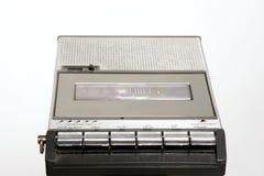 Retro Cassette recorder. Retro cassette portable tape recorder Royalty Free Stock Photo