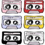 Retro cassette tape vintage Stock Image