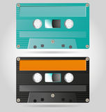 Retro Cassettes Stock Photos