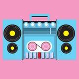 Retro cassettespeler Stock Fotografie