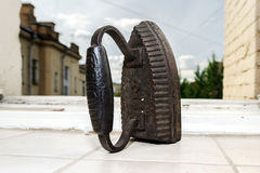 Retro cast iron Stock Photography