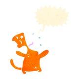 Retro cat cartoon character Royalty Free Stock Photography