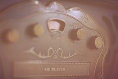 Retro CD player. Beautiful and stylish retro CD player Stock Photos