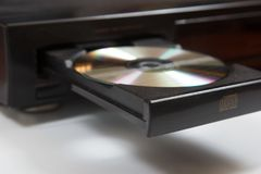 Retro CD player Royalty Free Stock Image