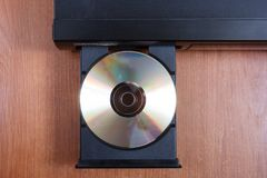 Retro CD player Royalty Free Stock Photography