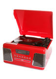 Retro cd and record player Stock Image