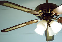 Retro Ceiling Fan royalty free stock images