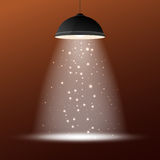 Retro ceiling lamp Stock Photo